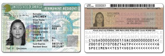 Green Card Example