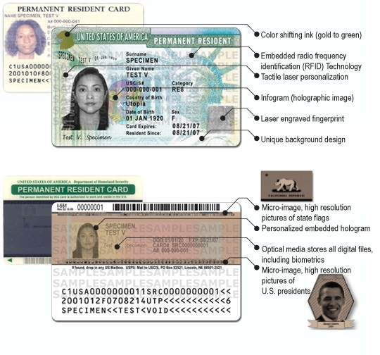 More about Green Card